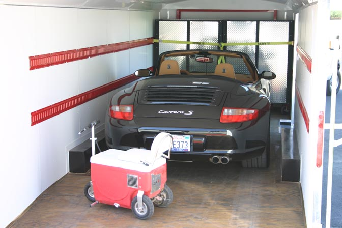 Our Complete mobile garage systems include everything you need to get started with your own NASCAR style touring system. & Complete Moblile Garage Systems
